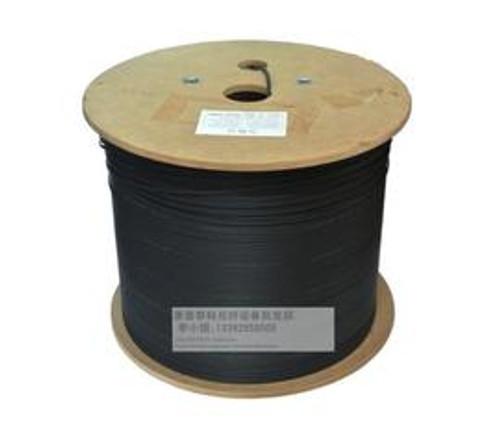 Fiber Optic Cable Bulk - OEM Fiber - 1 Core Aerial Drop Cable FTTX G657A1 SM 2KM Spool (4295)