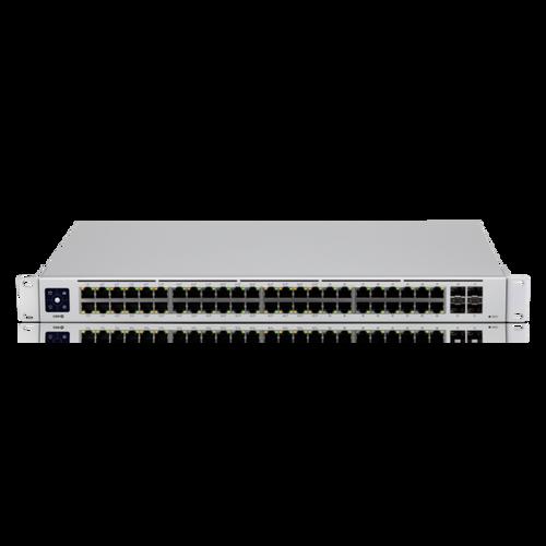 Ubiquiti USW-48-POE UniFi 48-Port Gigabit PoE+ Compliant Managed Switch Front