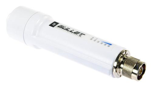 Ubiquiti BulletM2-HP US AirMax 2.4GHz Weatherproof Outdoor Radio (28 dBm) - US Version