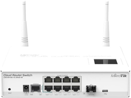 MikroTik CRS109-8G-1S-2HnD-IN Cloud Router 8-Port Gigabit Switch