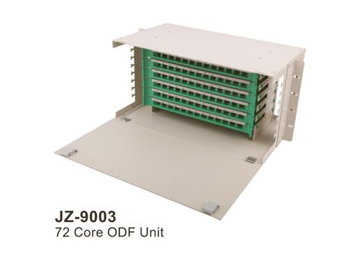 "72 Core LC FC SC ST ODF Optical Distribution Frame rack mount 19"" Fiber Optic Management Unit  JZ-9003"