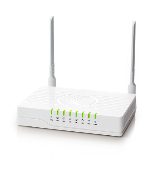 Cambium Networks - PL-R190WUSA-WW cnPilot R190W IPV6 Cloud managed Router via cnMaestro 4 LAN port 802.11n