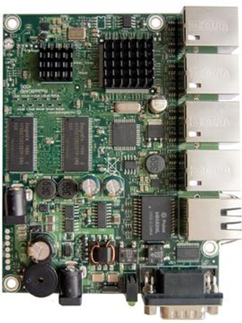 MikroTik RB450G Routerboard 680MHz, 5 port Gigabit ethernet router, microSD card slot, 256MB onboard memory ( RB450G )