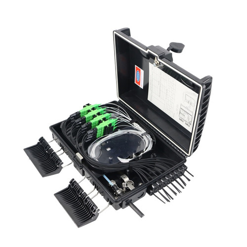 16 Core Fiber Optic Distribution Box  JZ-1321-16G(8 Mini/UPC)