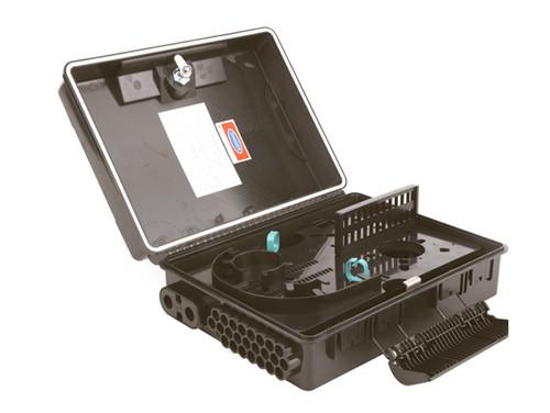 Wall Waterproof Optical Fiber Distribution Box 24 Core - JZ-1311-24P (JZ-1311-24P)