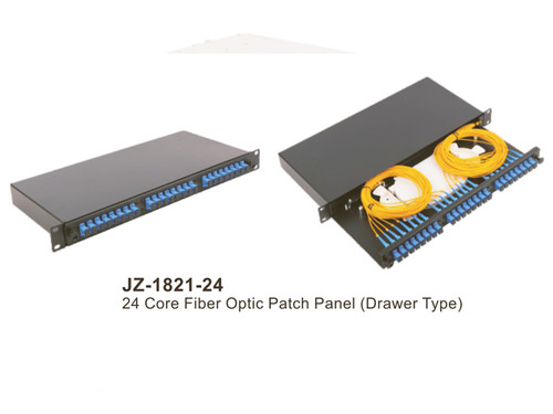 24 core Draw Type 1U FDU Patch Panel (JZ-1821-24)