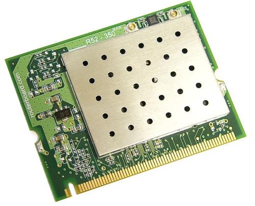 MikroTik R52H RouterBOARD High Power Wireless miniPCI Card 350mW 25dBm