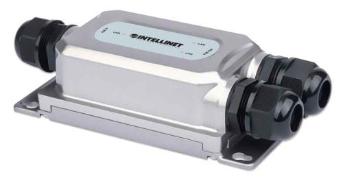 Intellinet 561648 2-Port Outdoor Vandalproof Gigabit Ultra PoE Extender