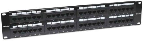 Intellinet 513579 48-Port Cat5e Patch Panel, UTP, 2U