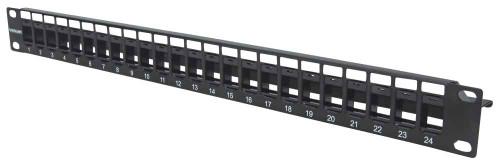 Intellinet 720847 24-Port Blank Patch Panel, 1U