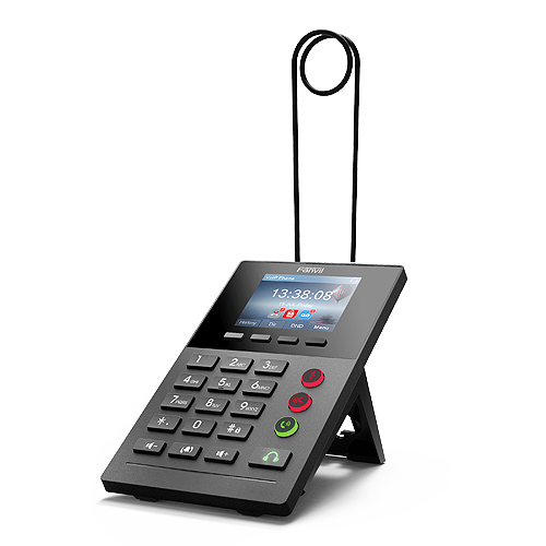 Fanvil X2P Call Center IP Phone ACD Function 128×48 Graphic Color LCD Display