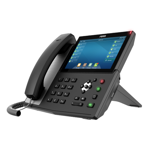 "Fanvil X7 Enterprise IP Phone HD Voice, Gigabit, 20 SIP lines, 7"" Touch LCD, Linux OS, Up to 127 DSS"