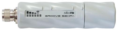 MikroTik GrooveA 52HPn Power Over Ethernet (PoE) WLAN Access Point - int'l Version
