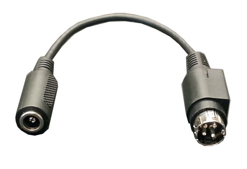 """Tycon Systems 4Pin DIN Male to 5.5/2.1mm DC Jack, 6"""""""