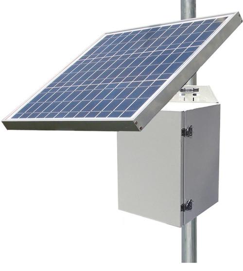 Tycon Systems 20W, 85W Solar Panel, 12V 100Ah Battery,24VPoE Off Grid Solar Power System (RPS1224-100-85)