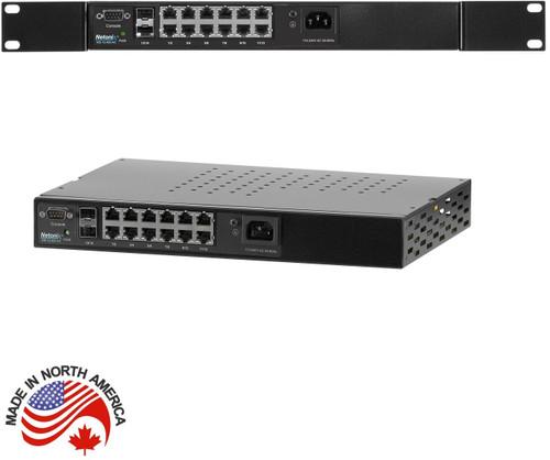 Netonix WS-12-400-AC 12-Port Managed POE Switch, AC 400Watt
