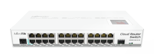 MikroTik CRS125-24G-1S-IN Cloud Router Gigabit Switch Front