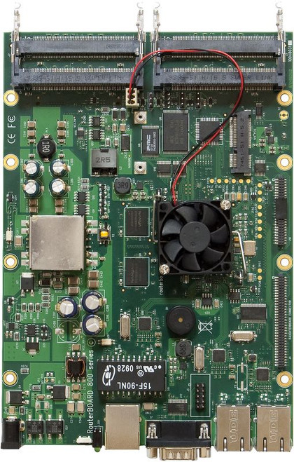 MikroTik RB800 high performance RouterBOARD Top