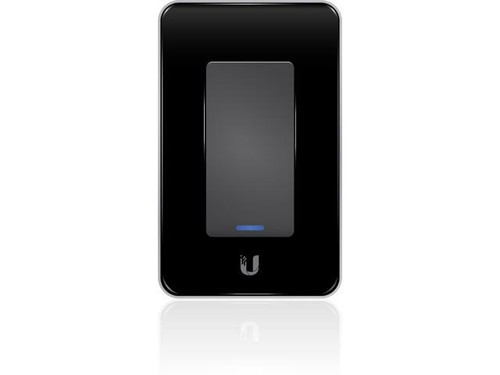 Ubiquiti mFi-LD In-Wall Wi-Fi Manageable Dimmer Black Switch