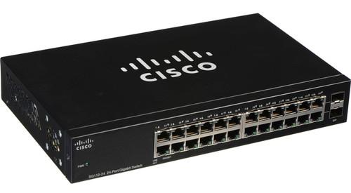 Cisco SG112-24-NA 110 Series 24-Port Gigabit Unmanaged Network Switch