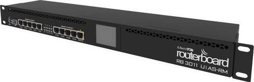 MikroTik RB3011UiAS-RM SFP, Dual Core 1.4GHz CPU, 10-Port Gigabit