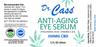Dr. Cass' Anti-Aging Under Eye CBD Serum Label.
