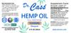 1500 Hemp Oil Tincture with Beta Caryophyllene label.