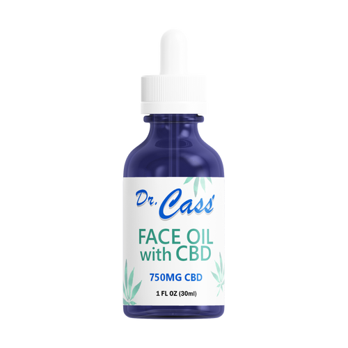 750mg Face Oil with CBD.