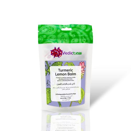 Turmeric Lemon Balm - Tea Bags