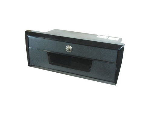 ATTWOOD GLOVE BOX BLACK PLASTIC 350X139MM 194070