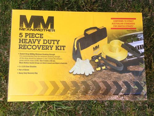 Mean Mother Recovery Kit 5 PC MMKIT01 4x4 Recovery Snatch Strap Snatch Block ***