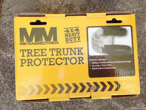 Mean Mother Tree Trunk Protector 3m x 75mm, 6500kg MMTTP WINCH STRAP NEW **