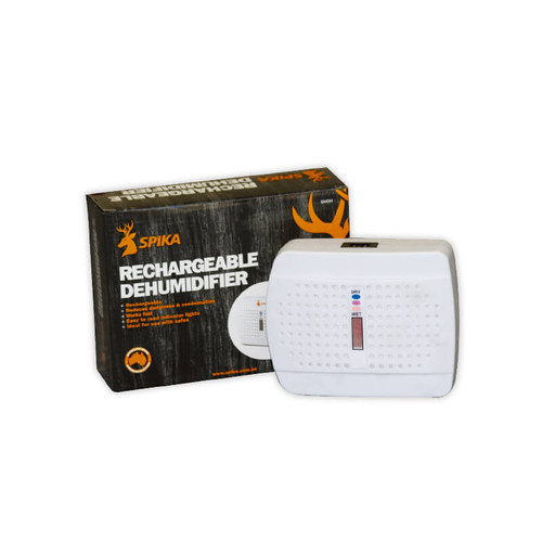 SPIKA RECHARGEABLE DEHUMIDIFIER SMDH REDUCE DAMP IN GUN SAFES