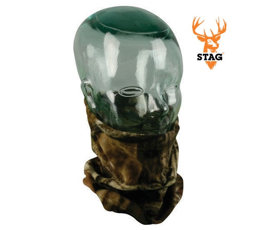 Stag Neck Gaiter Facemask Light Weight Fleece MossyOak BreakUp Infinity ***