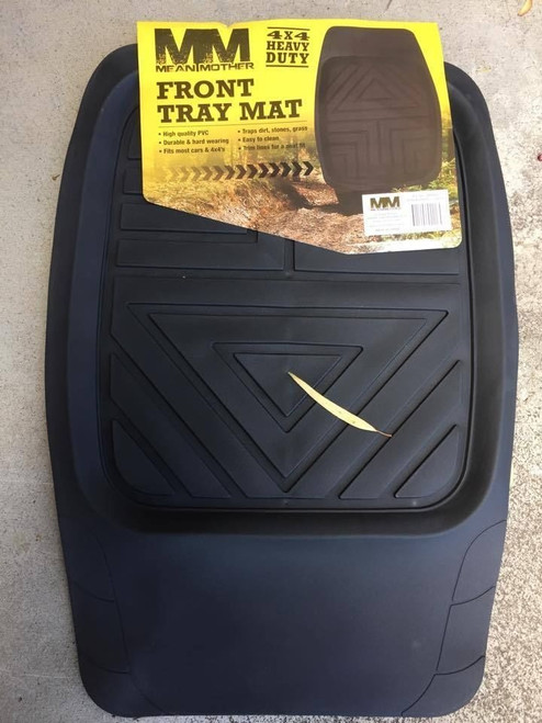 Mean Mother Deep Dish Tray Mat Tray Mat Front Black MM4800 MUD 4x4 Mat NEW***
