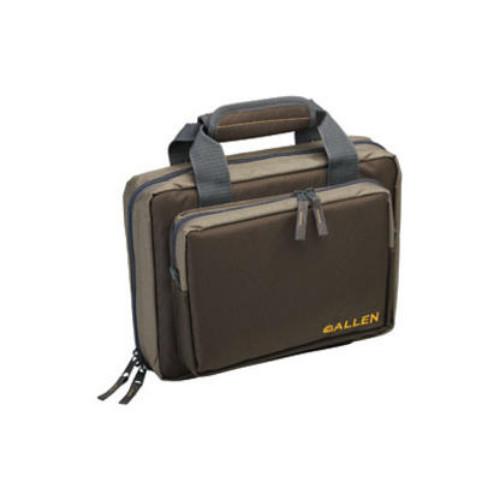 ALLEN DUPLEX TACTICAL PISTOL ATTACHE CASE GREEN - 7602