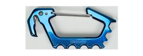KERSHAW JENS CARABINER BLUE - 1150BLUX