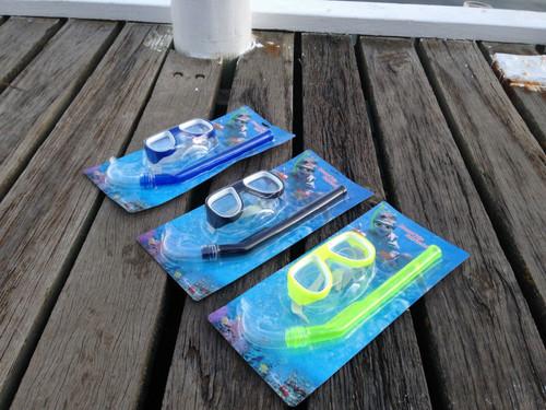 Kids Underwater Mask & Snorkel Set Beach & Pool Diving Fun RRP $29.95