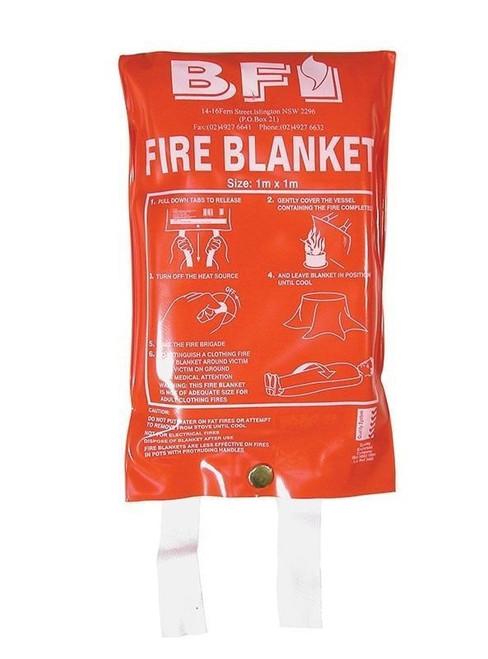 BFI FIRE BLANKET 1M X 1M 227012