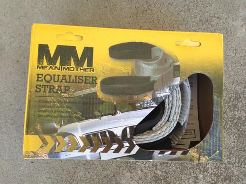 Mean Mother Equaliser Strap 2.5m x 75mm 8000kg MMEQ8 Snatch Strap 4x4 ***