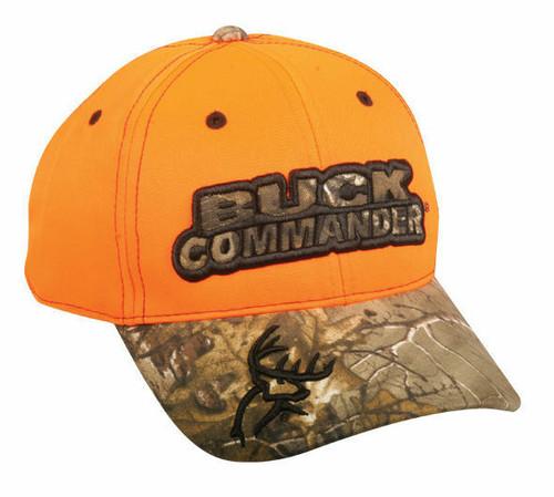Hunting Cap BUCK COMMANDER BKC-003 REALTREE Blaze/X Deer Hunting Hat USA Genuine