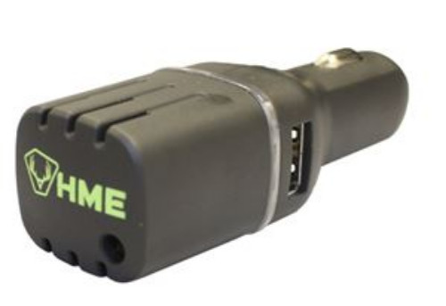DC CAR SCENT ELIMINATOR WITH DUAL USB - HME-APUR