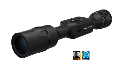 ATN X-SIGHT LTV, 5-15X Smart Day/night Hunting Rifle Scope - XS515LTV