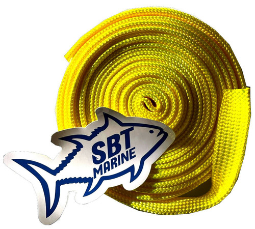 ANCHOR CHAIN SOCK SBT MARINE SLEEVING 6MM SHORT LINK CHAIN 6 MTRS  30mm Yellow