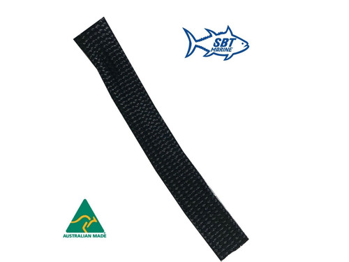 SBT MARINE ANCHOR CHAIN SOCK SLEEVING 6MM SHORT LINK CHAIN - 8 MTRS 30mm Black