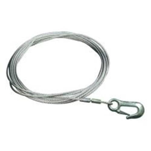BLA WINCH CABLE WITH SNAP HOOK 9.1M X 4.8MM 212924
