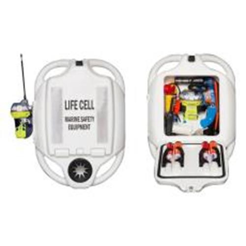 LIFE CELL YACHTSMAN WHITE 4 PERSON 226452W