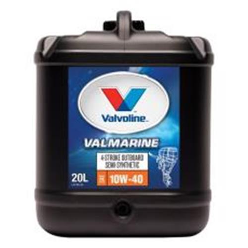 VALMARINE 4 ST 10W-40 SEMI SYN OIL 20LTR 260155