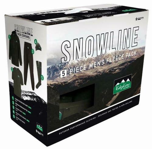 RIDGELINE MENS SNOWLINE PACK BLACK/ OLIVE XL - RLCCPSLBO4