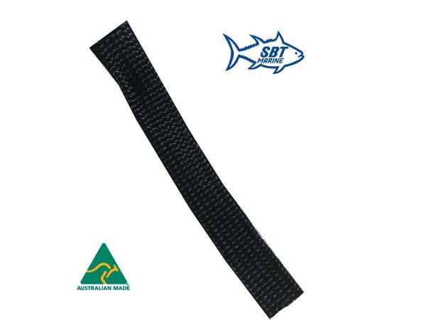 ANCHOR CHAIN SOCK SBT MARINE SLEEVING 8MM SHORT LINK CHAIN 6 MTRS  35mm Black